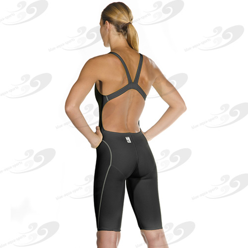 HEAD® Liquid Power Racing Knee Black Silver 2
