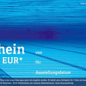 Gutschein Pool 10 EUR