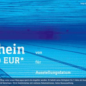 Gutschein Pool 50 EUR