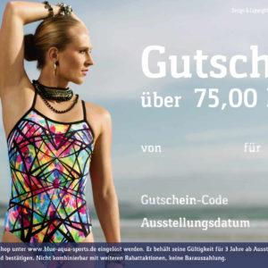 Gutschein Prismatic 75 EUR