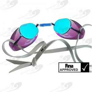 Malmsten Standard Schwedenbrille – Metallic Blue Oil