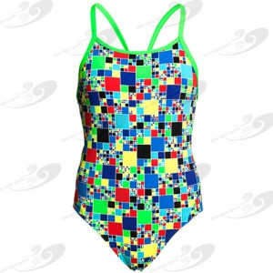 Funkita® Rubik's Runner Girls Diamond Back 1