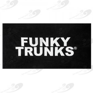 Funky Trunks® Handtuch Still Black