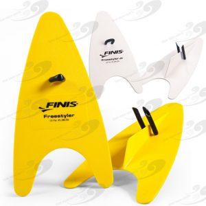 FINIS® Freestyler Paddles, speziell für das Techniktraining des Freistilschwimmens entwickelt