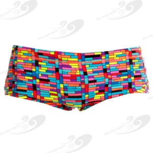 Funky Trunks® Stacked Up Boys Printed Trunk 1