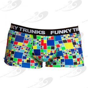 Funky Trunks® Rubik's Runner Underwear Trunk 1