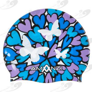 AMANZI® Butterfly Kisses Badekappe
