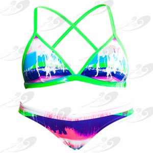 Funkita® Colour Run Strandbikini 1