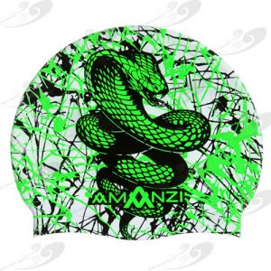 AMANZI® Serpent Badekappe