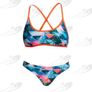 Funkita® Split Scene Tie Down Bikini