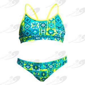 Funkita® Lime Light Girls Sportbikini