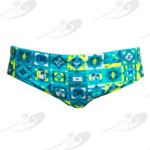 Funky Trunks® Lime Light Brief 1