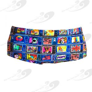 Funky Trunks® Square Eyes Boys Printed Trunk 1