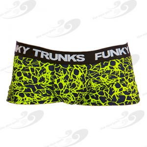 Funky Trunks® Coral Gold Underwear Trunk 1