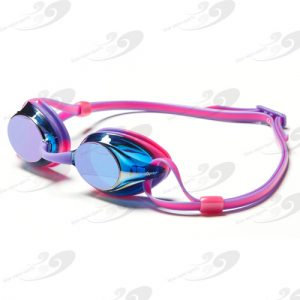 Amanzi® Axion Prismatic Purple & Pink Goggle Mirrored