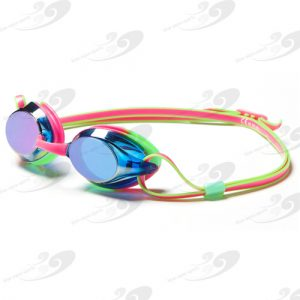 Amanzi® Axion Prismatic Pink & Green Goggle Mirrored