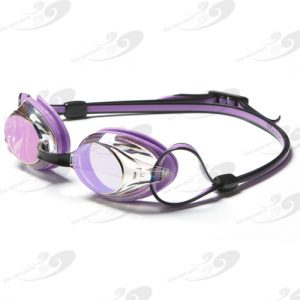 Amanzi® Axion Pearl Purple & Black Goggle Mirrored