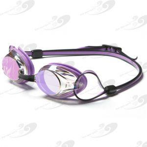 Amanzi® Axion Pearl Purple & Black Goggle Mirrored