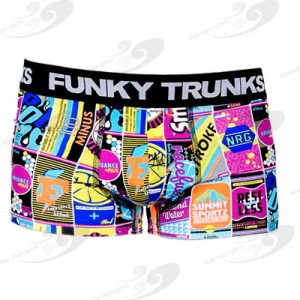 Funky Trunks® Sugar Smash Boys Underwear Trunk 1