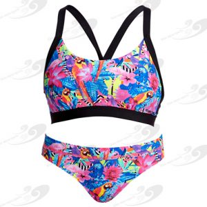 Funkita® Club Tropo Hold Steady Sportbikini 1