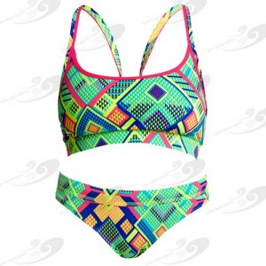 Funkita® Diamond Fire Sportbikini 1