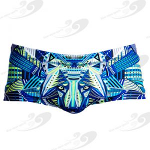 Funky Trunks® Sea Wolf Plain Front Trunk 1