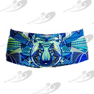 Funky Trunks® Sea Wolf Boys Printed Trunk 1
