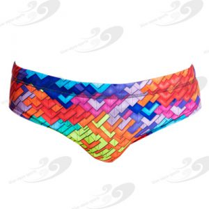 Funky Trunks® Layer Cake Brief 1