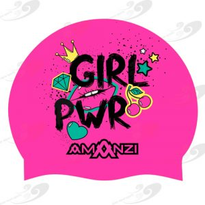 AMANZI® Girl Power Badekappe