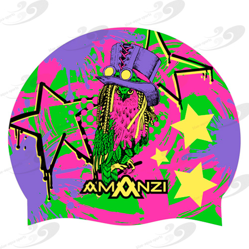 AMANZI® What A Hoot Badekappe