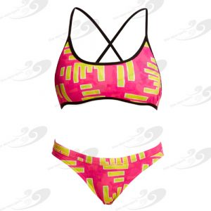 Funkita® Bar Bar Cross Back Tie Bikini 1a