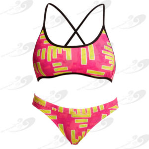 Funkita® Bar Bar Cross Back Tie Bikini