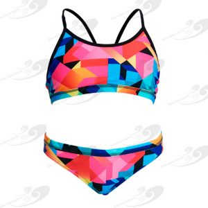 Funkita® Colour Burst Girls Sportbikini