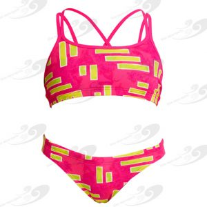 Funkita® Bar Bar Girls Criss Cross Sportbikini 1a