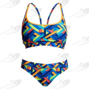 Funkita® Boarded Up Sportbikini 1