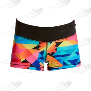 Funkita® Fit Colour Burst Mimi Mini Shorts 1