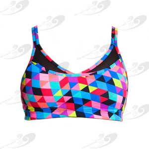 Funkita® Fit Strap In Sports Top Colour Card 1