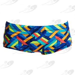 Funky Trunks® Boarded Up Boys Printed Trunk 1