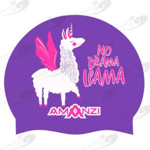 AMANZI® No Drama Llama Badekappe