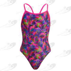 Funkita® Shaded Palms Girls Single Strap