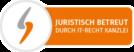 Logo Juristisch Betreut durch IT-Recht Kanzlei
