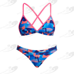 Funkita® Lava Lights Tri Top Strandbikini 1
