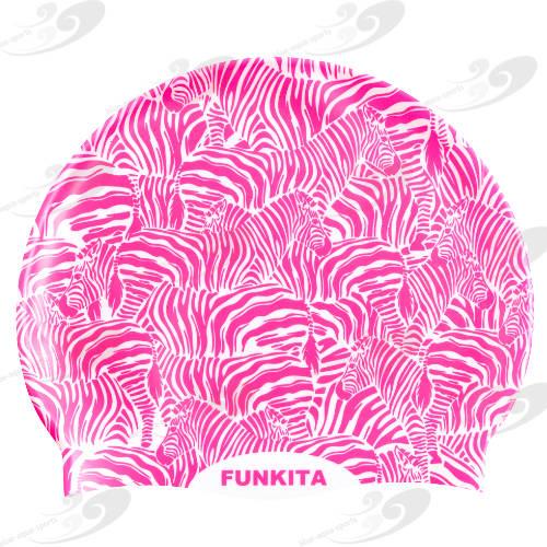 Funkita® Painted Pink Badekappe