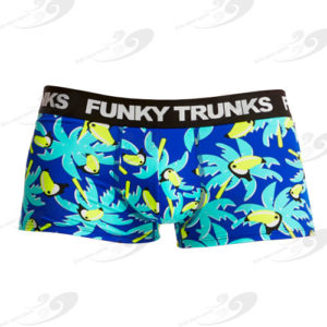 Funky Trunks® Bird Brain Underwear Trunk 1