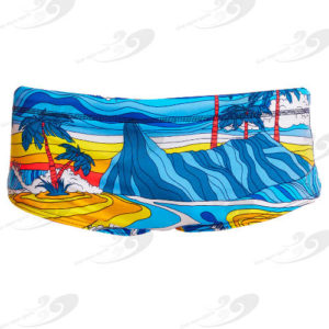 Funky Trunks® Beach Bum Boys Eco Printed Trunk 1