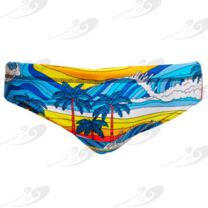 Funky Trunks® Beach Bum Eco Classic Brief 1