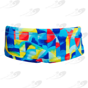 Funky Trunks® Brushed Up Boys Printed Trunk 1