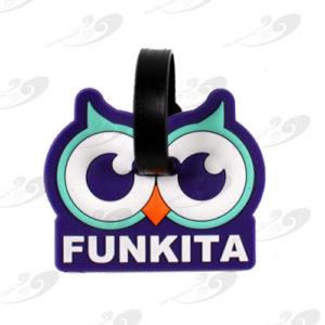 Funkkita® Gepäckanhänger Twit Twoo