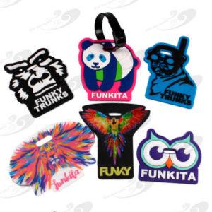 Gepäckanhänger von Funky Trunks® und Funkita® 1
