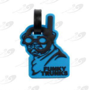 Funky Trunks® Gepäckanhänger Snorkel Pug